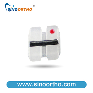 Bright Series Ceramic Brackets with Metal Slot